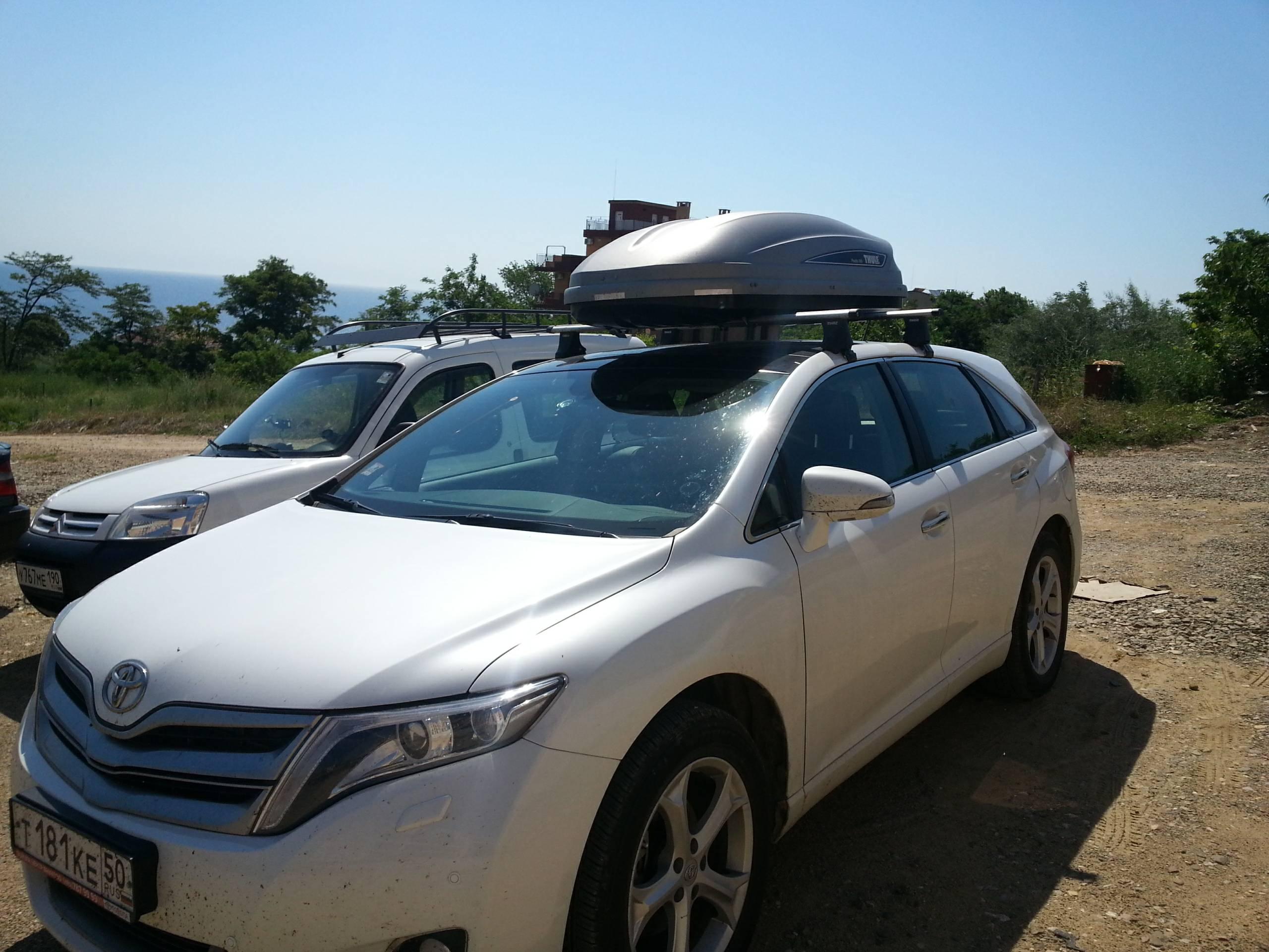 крыша Toyota Венза #8